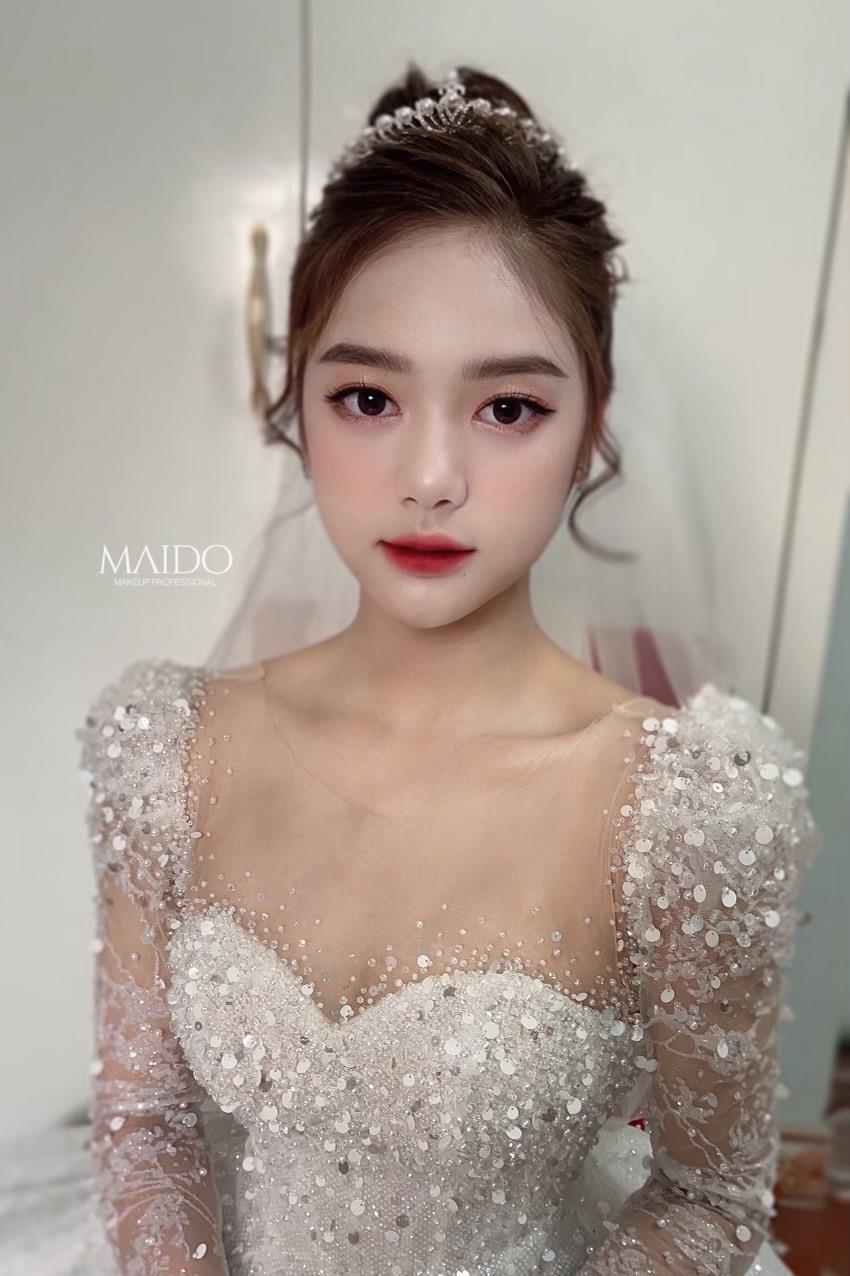 Mai Đỗ Makeup - Địa chỉ vàng mang lại diện mạo xinh đẹp lộng lẫy cho các cô dâu - Ảnh 4.
