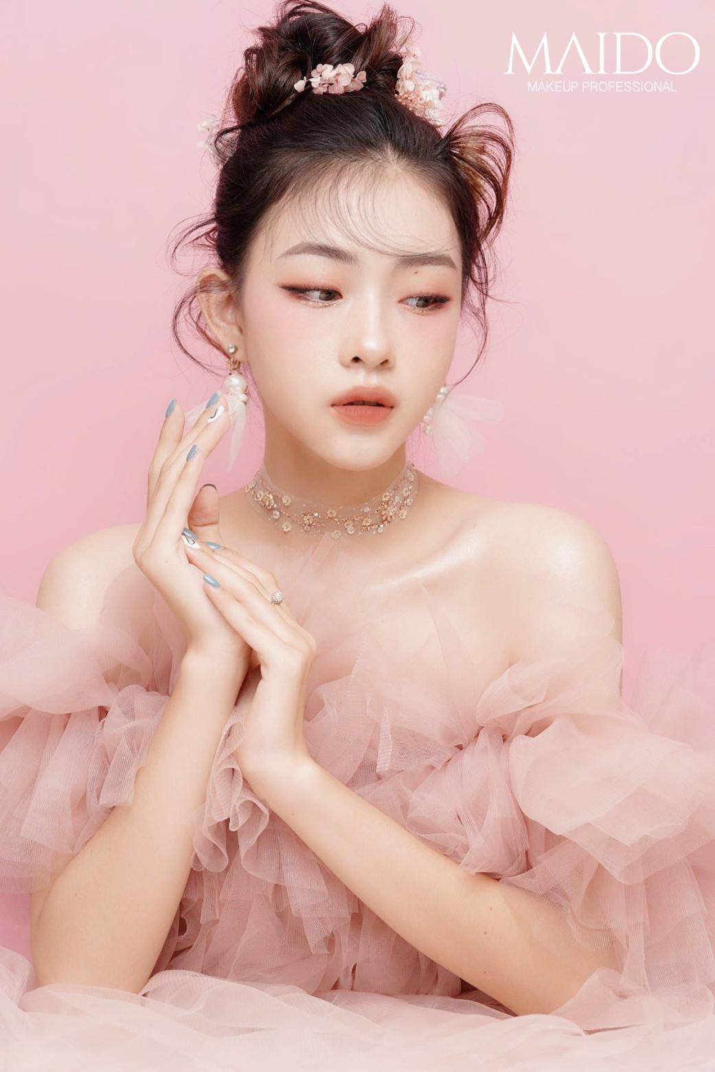 Mai Đỗ Makeup - Địa chỉ vàng mang lại diện mạo xinh đẹp lộng lẫy cho các cô dâu - Ảnh 6.