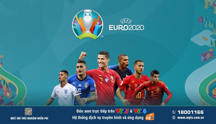 """Tâm điểm thể thao hè 2021 - Cùng MyTV """"lăn"""" theo trái bóng """"Uniforia"""" của UEFA EURO 2020 - Ảnh 2."""