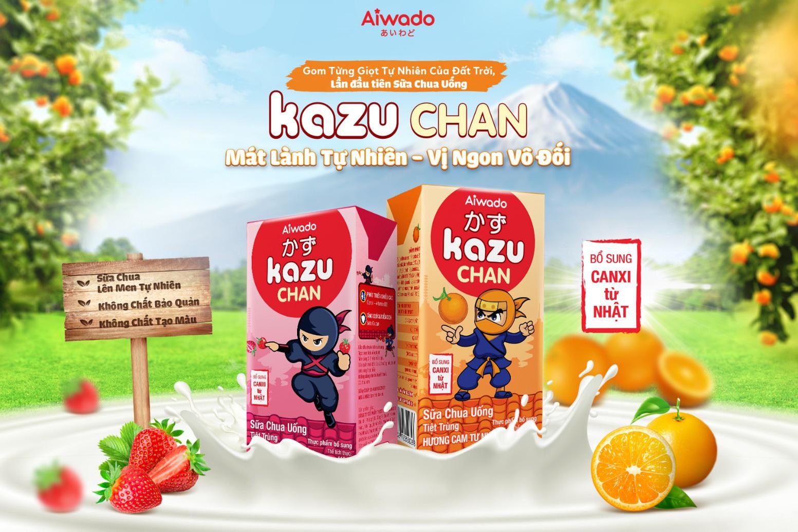 Kazu Chan mát lành tự nhiên, tăng cường đề kháng cho trẻ trong mùa hè - Ảnh 3.