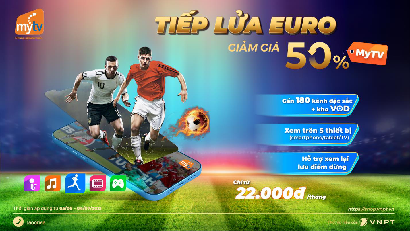 """Tâm điểm thể thao hè 2021 - Cùng MyTV """"lăn"""" theo trái bóng """"Uniforia"""" của UEFA EURO 2020 - Ảnh 3."""