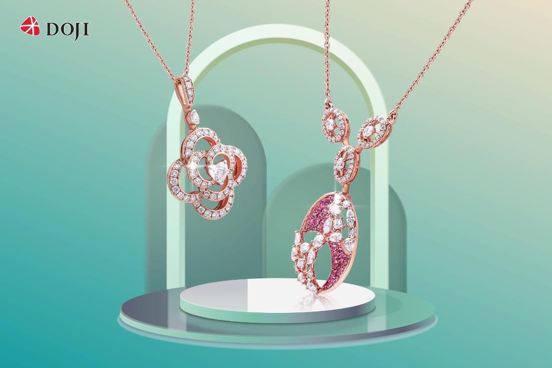 Cận cảnh những mẫu trang sức kim cương cao cấp của DOJI làm say lòng phái đẹp - Ảnh 1.