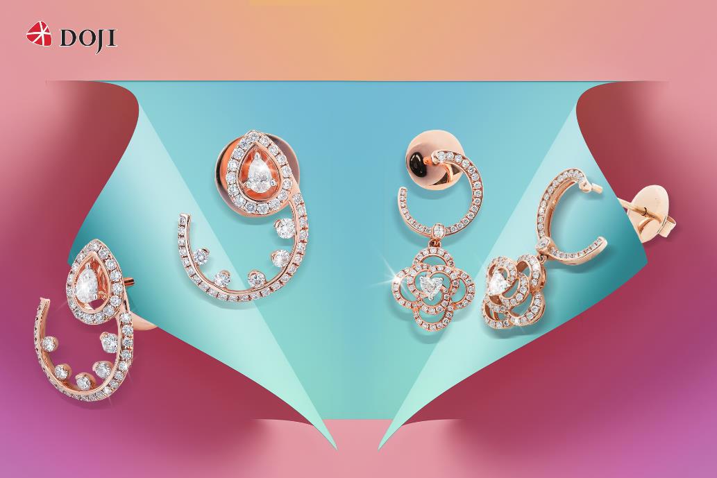 Cận cảnh những mẫu trang sức kim cương cao cấp của DOJI làm say lòng phái đẹp - Ảnh 2.
