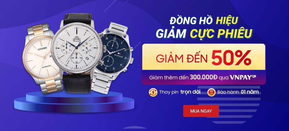 Đồng hồ Citizen, Rossini giảm đến 50% tại FPT Shop - Ảnh 1.