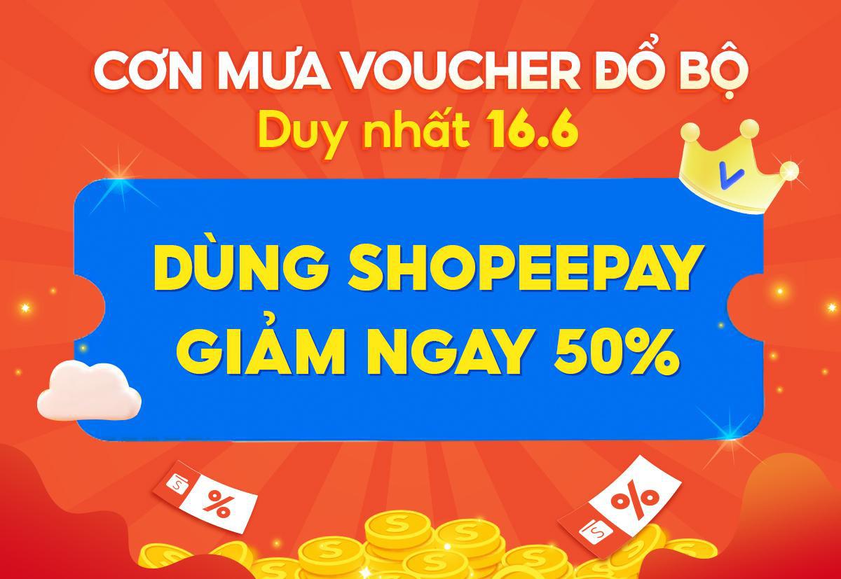 6 ưu đãi chất lừ tại ShopeePay 16.06, nhất định đừng bỏ lỡ! - Ảnh 2.