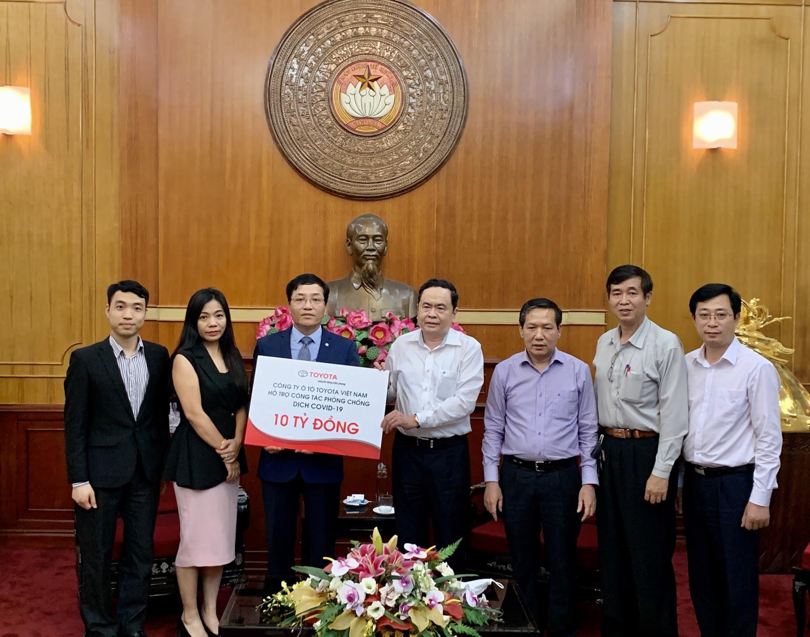 Toyota Việt Nam đồng hành cùng Việt Nam ủng hộ 10 tỷ đồng cho Quỹ Vắc-xin phòng Covid-19 - Ảnh 2.