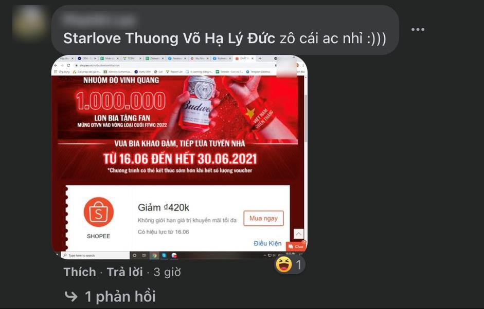Mừng kỳ tích của đội tuyển Việt Nam, Budweiser gửi 1.000.000 lon bia tới Fan hâm mộ - Ảnh 2.