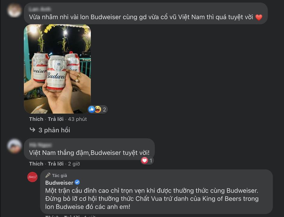 Mừng kỳ tích của đội tuyển Việt Nam, Budweiser gửi 1.000.000 lon bia tới Fan hâm mộ - Ảnh 4.