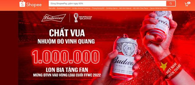 """Budweiser nói là làm: Tặng 1.000.000 lon bia """"khao"""" cổ động viên mừng kỳ tích Việt Nam lần đầu lọt vòng loại cuối World Cup 2022 - Ảnh 5."""