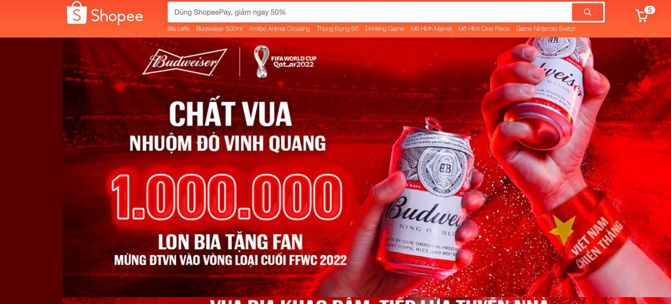 Mừng kỳ tích của đội tuyển Việt Nam, Budweiser gửi 1.000.000 lon bia tới Fan hâm mộ - Ảnh 5.