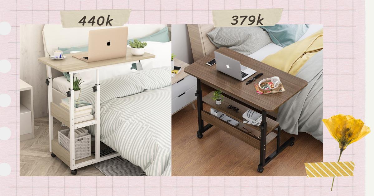 Mách bạn 3 mẫu bàn làm việc tại nhà siêu gọn với giá rẻ từ 194K - Ảnh 2.