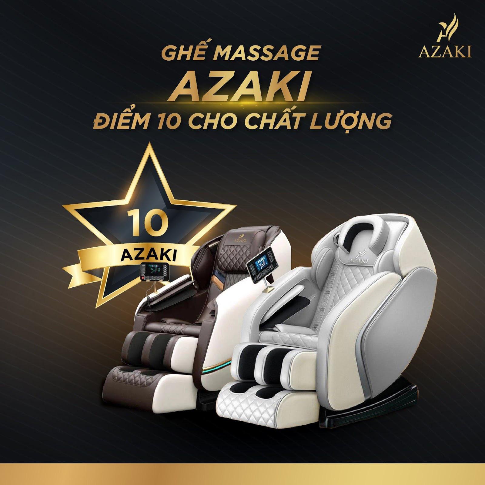 Bí quyết thành công của thương hiệu ghế massage Azaki - Ảnh 1.