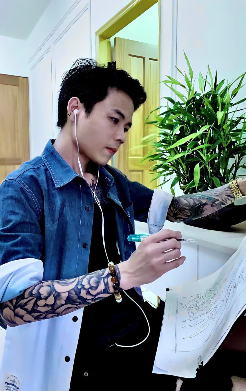 Đam mê mỹ thuật, chàng trai Việt gặt hái thành công với tiệm xăm tại Đài Loan - Ảnh 3.