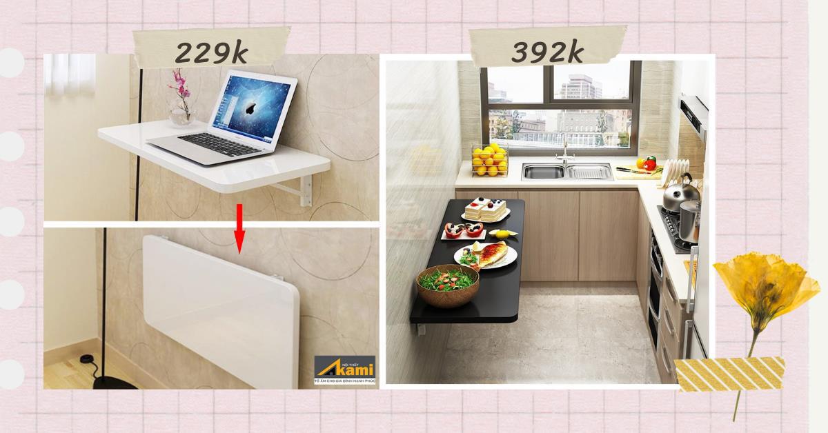 Mách bạn 3 mẫu bàn làm việc tại nhà siêu gọn với giá rẻ từ 194K - Ảnh 4.