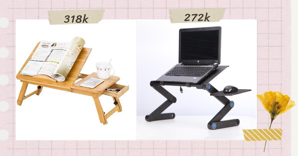 Mách bạn 3 mẫu bàn làm việc tại nhà siêu gọn với giá rẻ từ 194K - Ảnh 6.