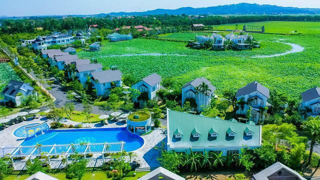 Vườn Vua Resort & Villas khởi tạo festival hoa sen tại đầm sen Bạch Thủy - Ảnh 1.