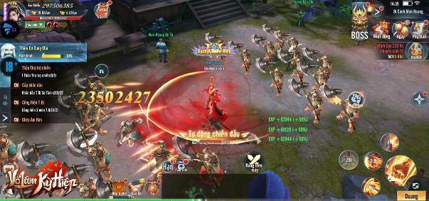 Loạn chiến cao thủ Kim Dung trong game mới - Võ Lâm Kỳ Hiệp: Bom tấn MMORPG từ NPH Gamota - Ảnh 4.