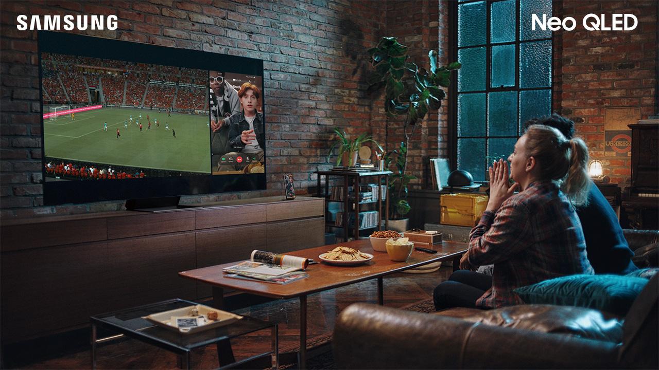 Thời điểm vàng lên đời TV Samsung: Ưu đãi khủng mùa Euro 2021 - Ảnh 2.