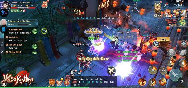 Loạn chiến cao thủ Kim Dung trong game mới - Võ Lâm Kỳ Hiệp: Bom tấn MMORPG từ NPH Gamota - Ảnh 8.