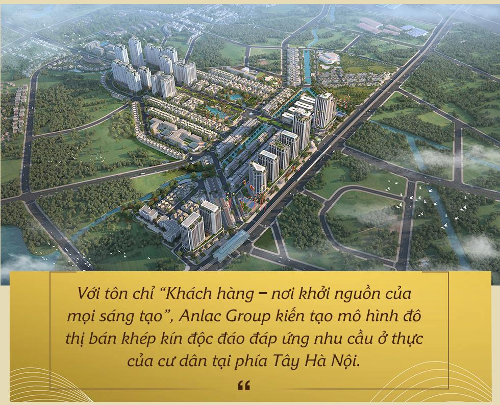 """Kiến tạo mô hình đô thị """"bán khép kín"""" đầu tiên tại phía Tây Hà Nội, Anlac Group tiếp tục khẳng định vị thế trên thị trường bất động sản - Ảnh 3."""