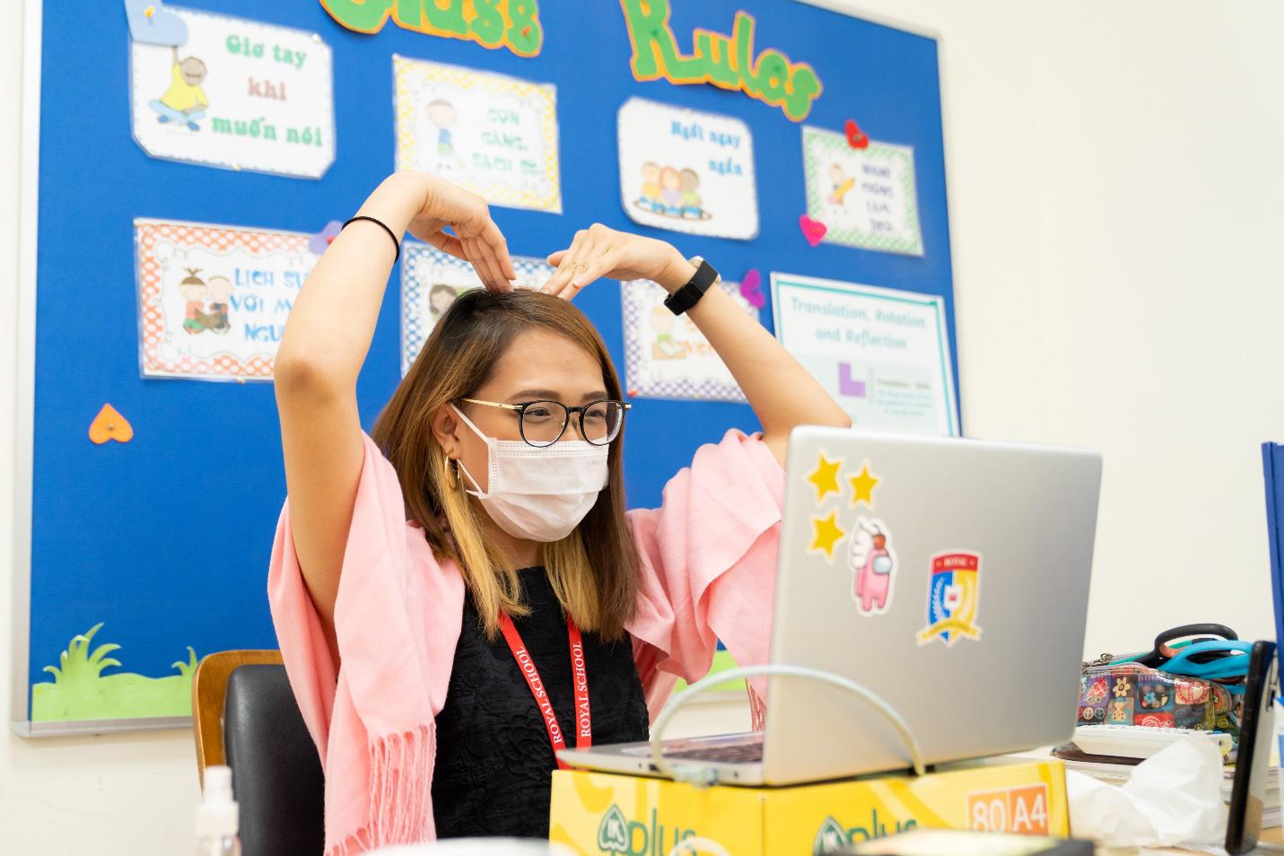 Royal School miễn phí học hè trực tuyến cho học sinh toàn quốc - Ảnh 1.
