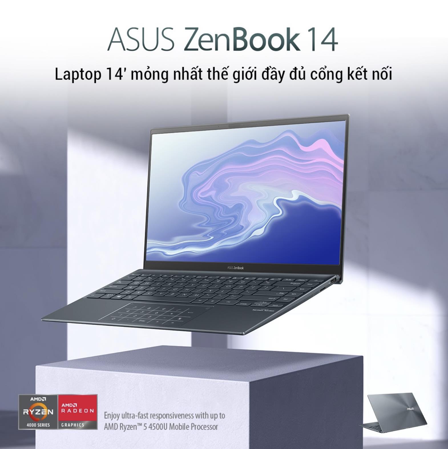 Loạt laptop siêu di động trang bị AMD Ryzen 5000 Series phù hợp với giới trẻ - Ảnh 1.
