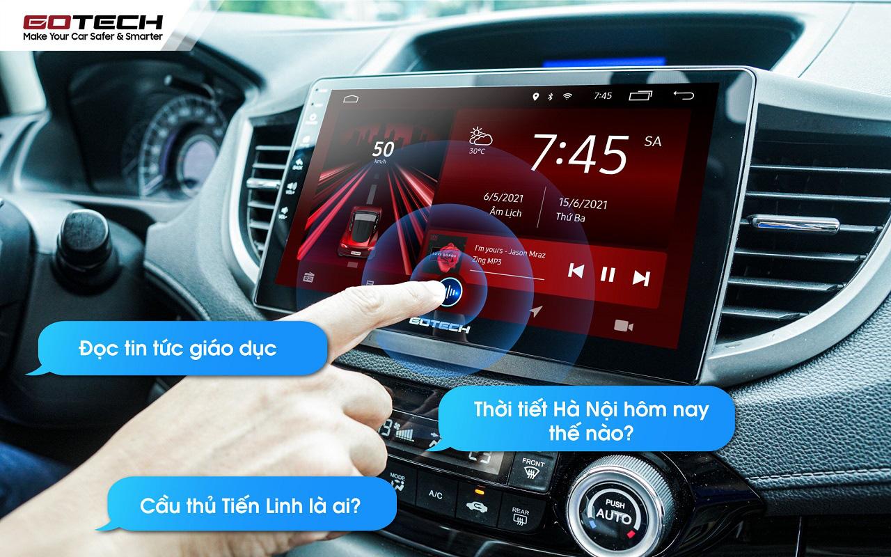 Trải nghiệm trợ lý Kiki sở hữu trí tuệ nhân tạo của Việt Nam trên màn hình GOTECH - Ảnh 4.