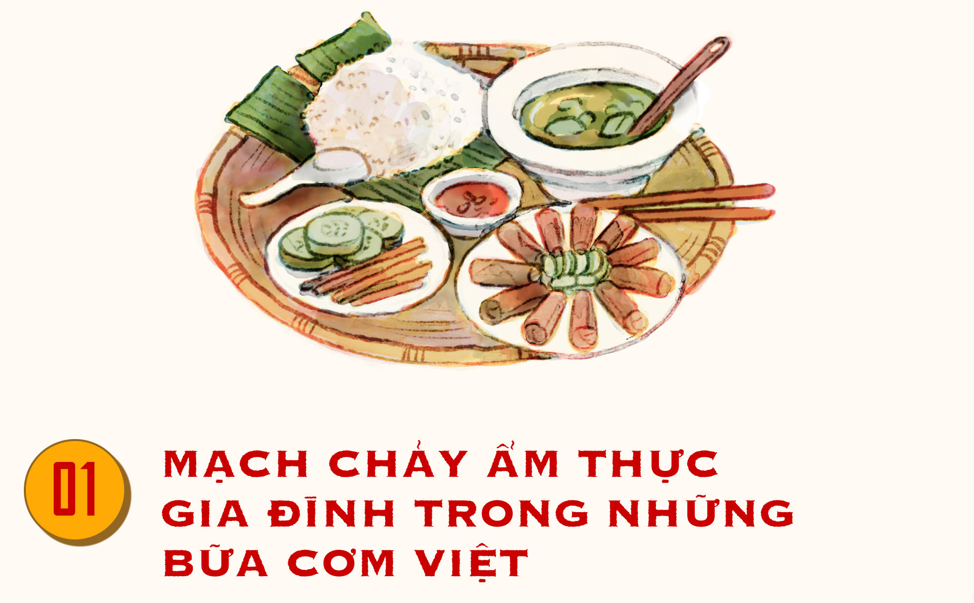 Nếp nhà trong những bữa cơm Việt truyền thống, ướp đậm tình cảm gia đình yêu thương - Ảnh 1.