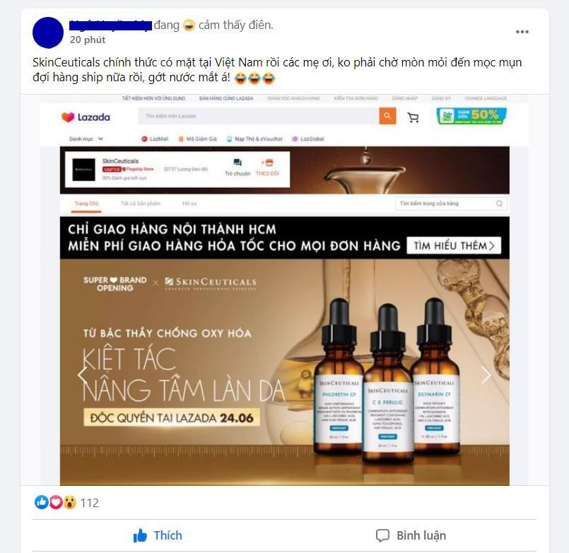 """Quên """"nỗi đau"""" chờ hàng xách tay đi! Siêu phẩm SkinCeuticals mà hội chị em skincare thông thái thương mến đã chính thức bán online tại Việt Nam rồi! - Ảnh 2."""