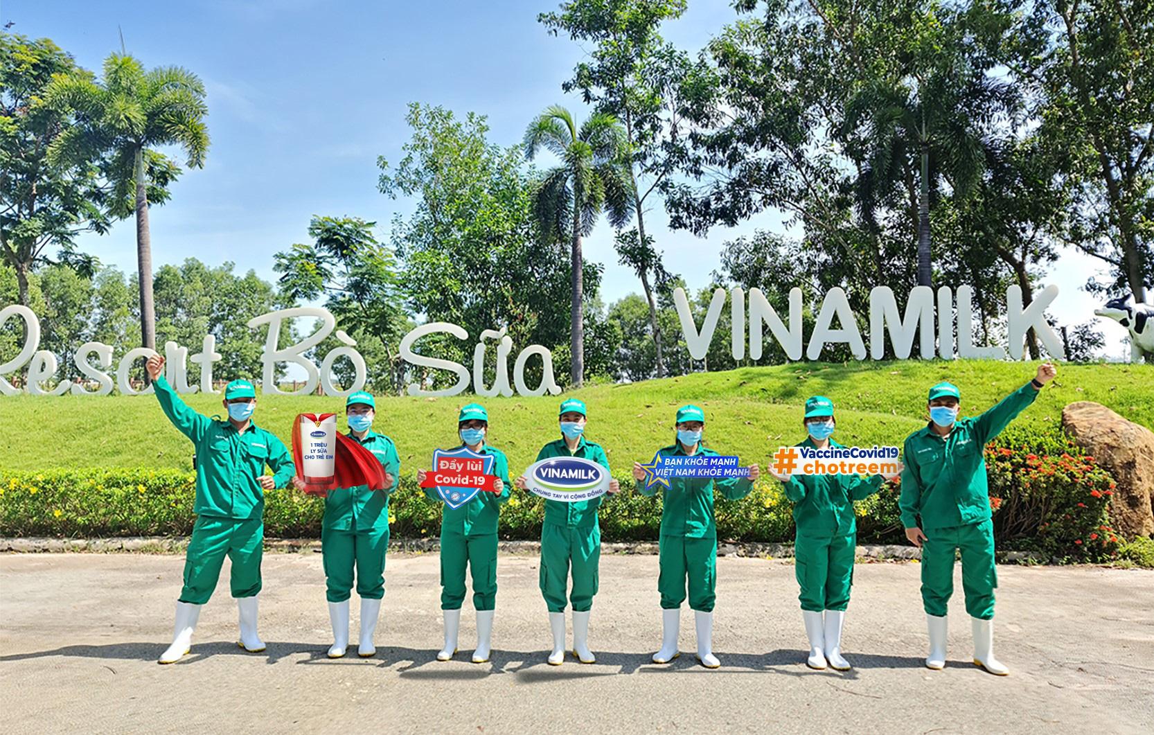 Vinamilk khởi động chiến dịch Bạn khỏe mạnh, Việt Nam khỏe mạnh với hoạt động góp vaccine phòng Covid-19 cho trẻ em - Ảnh 2.