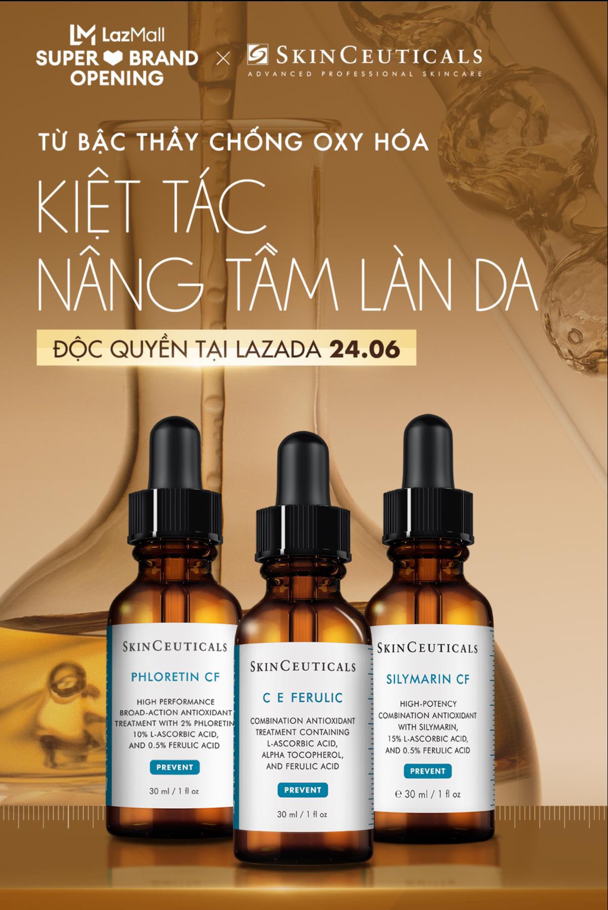 """Quên """"nỗi đau"""" chờ hàng xách tay đi! Siêu phẩm SkinCeuticals mà hội chị em skincare thông thái thương mến đã chính thức bán online tại Việt Nam rồi! - Ảnh 4."""