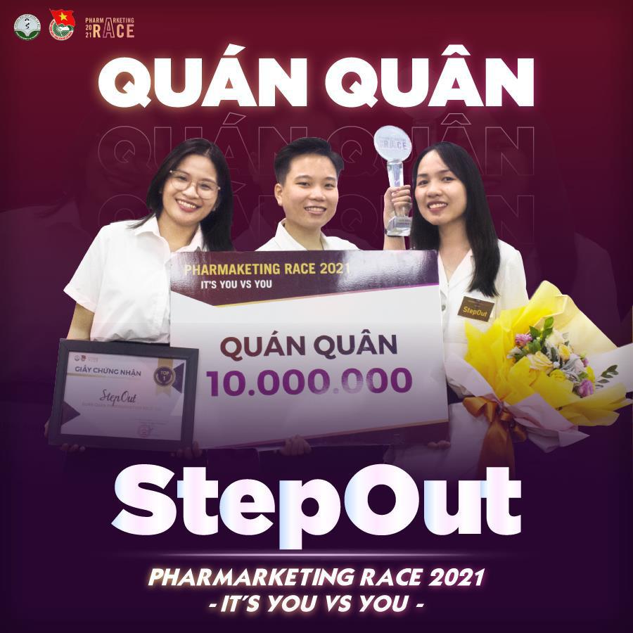 StepOut chính thức trở thành quán quân PharMarketing Race 2021 - Ảnh 11.