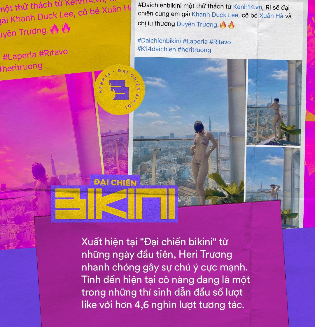 Minigame Đại chiến bikini xuất hiện thí sinh đáng gờm: Sở hữu body xịn xò, ai nhìn cũng ước được thả tim dăm bảy lần - Ảnh 2.