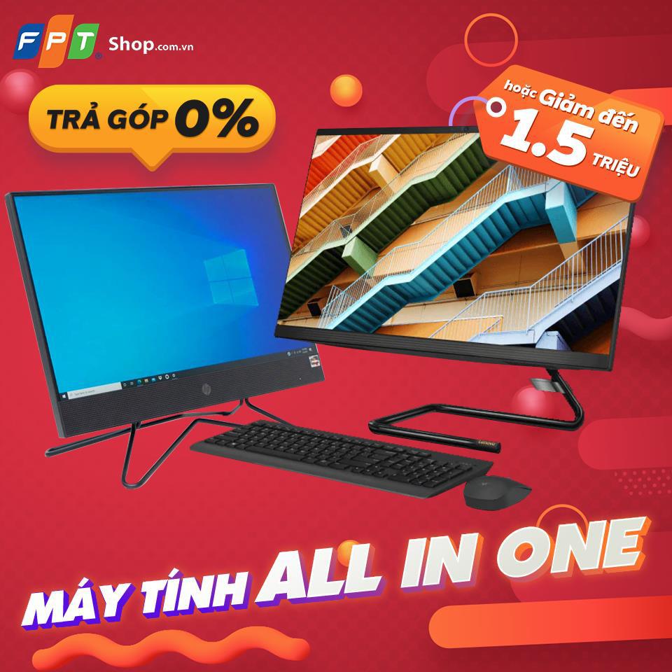 FPT Shop giảm đến 1,5 triệu cho loạt máy tính AIO siêu gọn nhẹ - Ảnh 2.