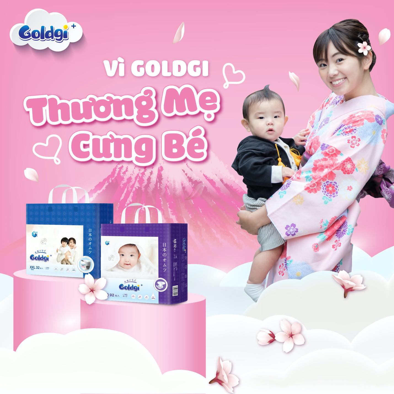 Tã Goldgi - lựa chọn tối ưu mẹ dành cho bé - Ảnh 2.