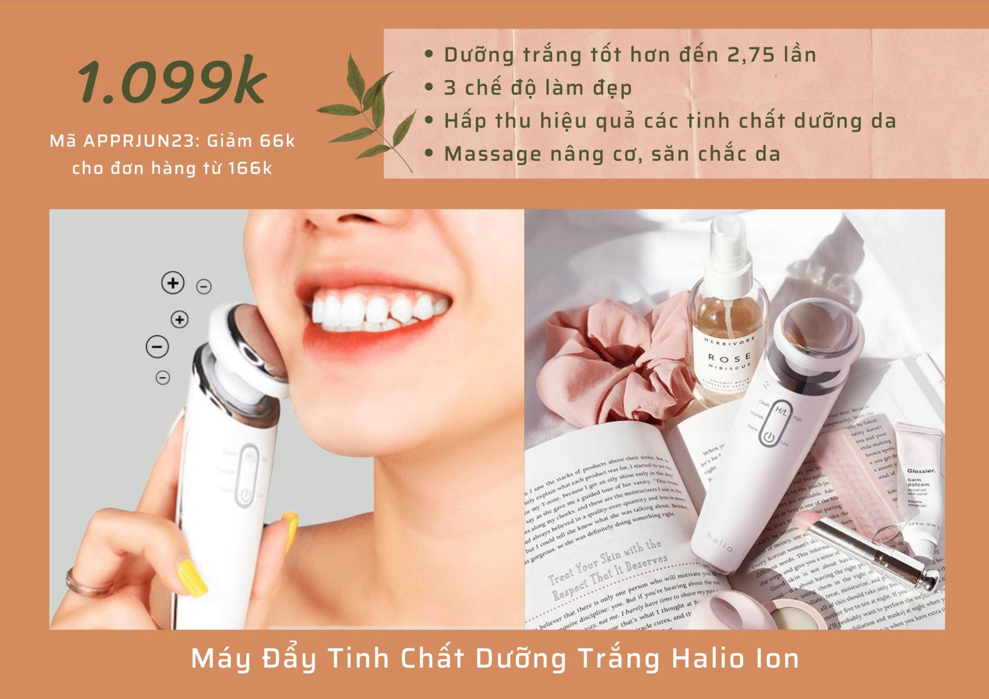 Điểm danh loạt máy skincare công nghệ cao để nàng chăm da tại nhà như spa có giá từ 539K - Ảnh 3.