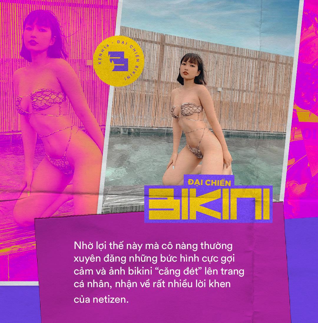 Minigame Đại chiến bikini xuất hiện thí sinh đáng gờm: Sở hữu body xịn xò, ai nhìn cũng ước được thả tim dăm bảy lần - Ảnh 7.