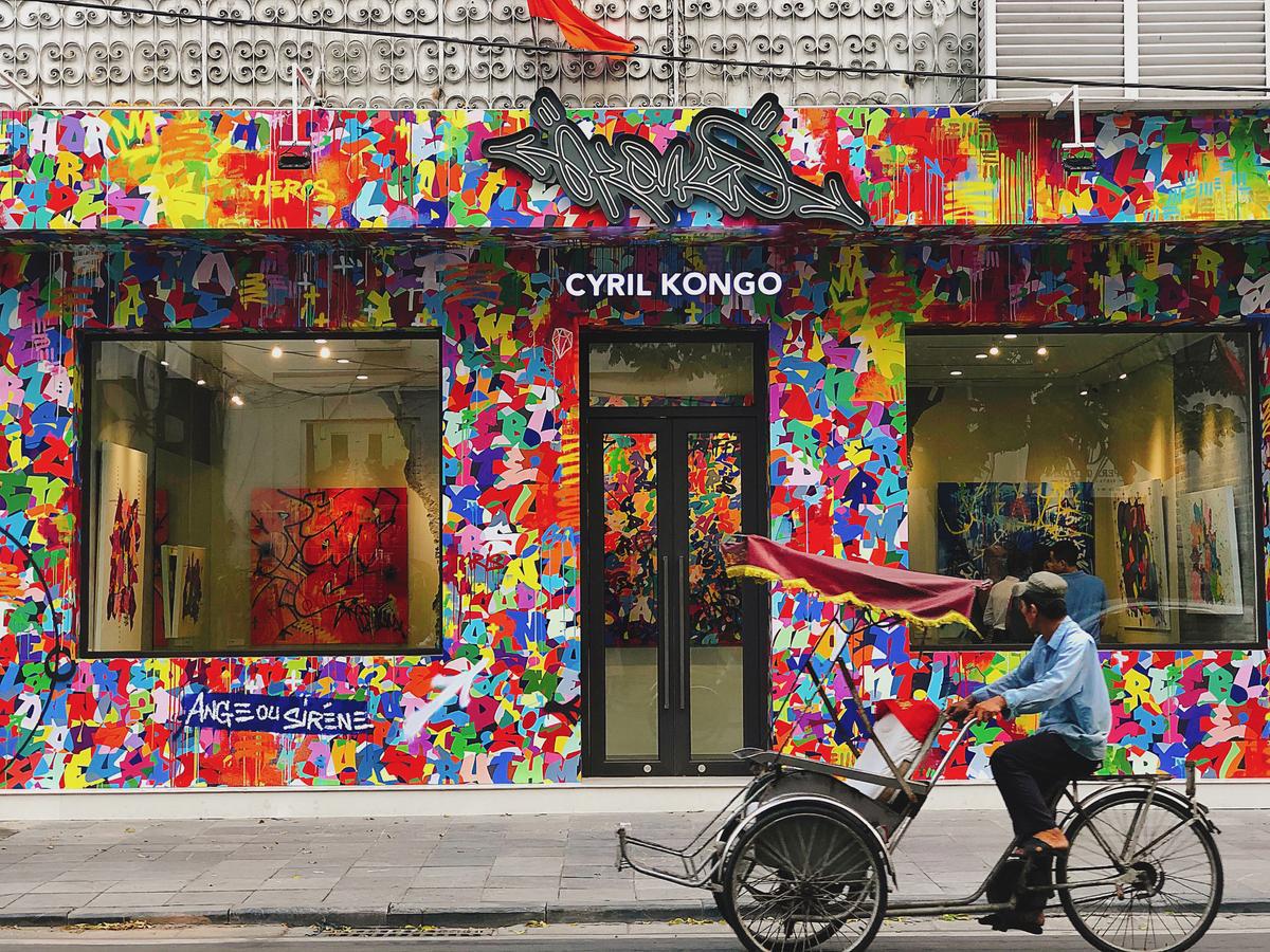 Cyril Kongo và các nghệ sĩ Việt Nam cùng phối hợp trong dự án mang tên Âm - Thanh Sắc - Màu - Ảnh 1.