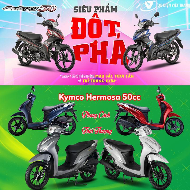 Top 5 mẫu xe điện, xe máy 50cc phù hợp cho học sinh hiện nay - Ảnh 2.