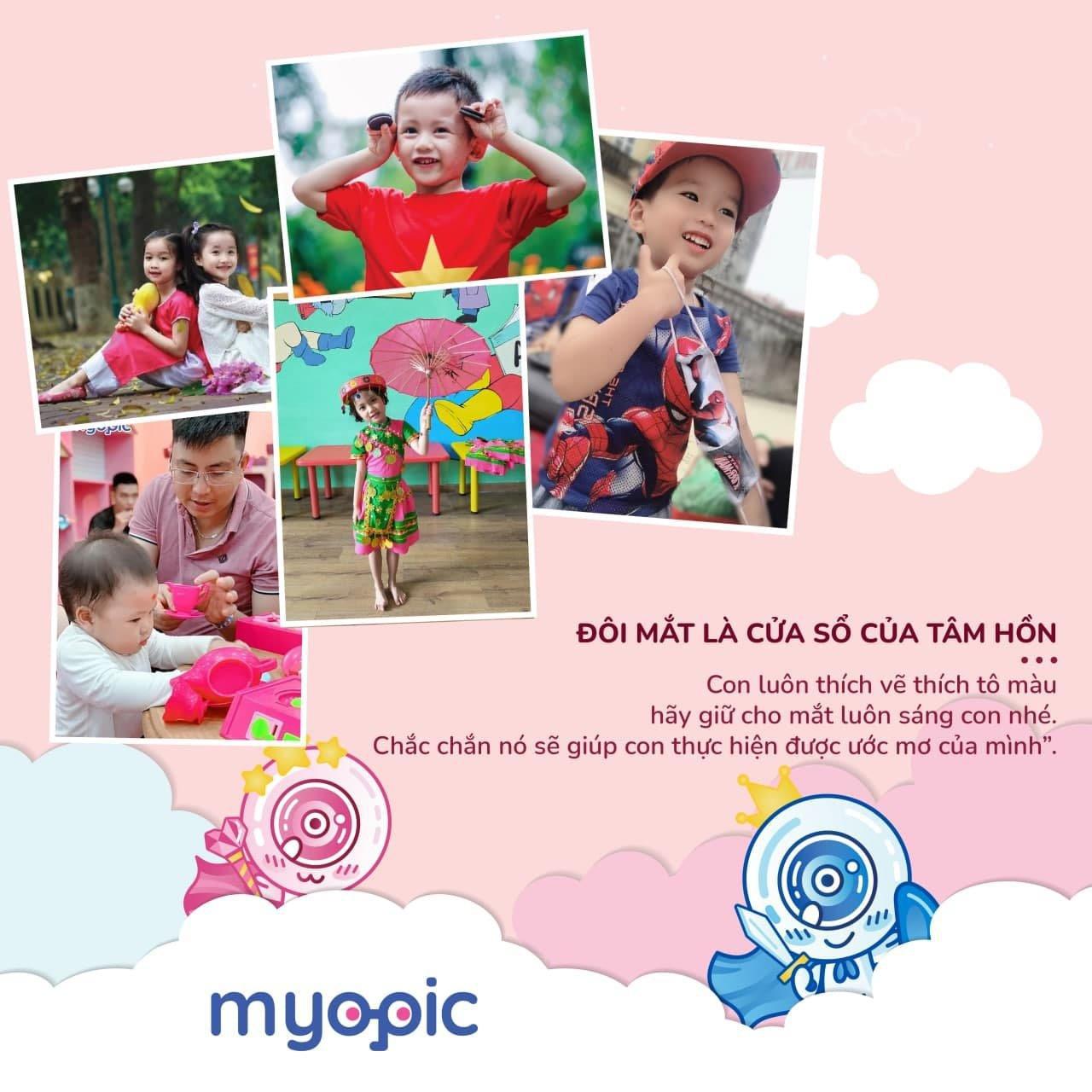 Myopic tổ chức cuộc thi Đôi mắt khỏe để trẻ tinh anh nhân ngày gia đình Việt Nam - Ảnh 3.