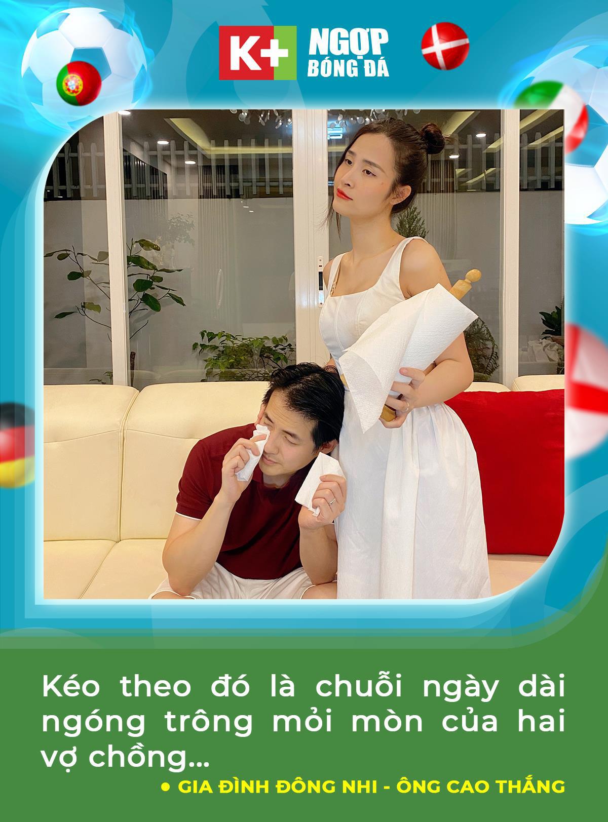 """Học tập Đông Nhi, Trang Lou tiếp sức cho chồng """"cháy"""" cùng UEFA Euro 2020™ trên K+ - Ảnh 2."""