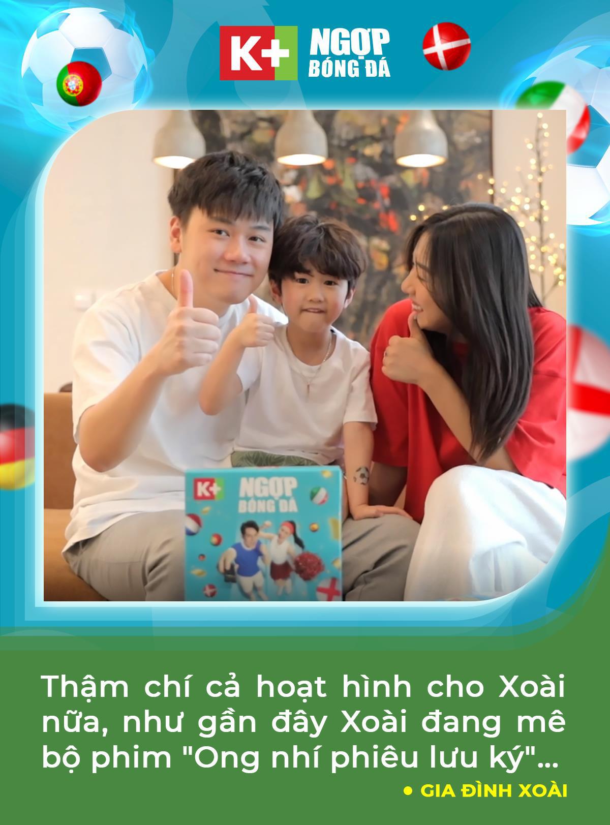 """Học tập Đông Nhi, Trang Lou tiếp sức cho chồng """"cháy"""" cùng UEFA Euro 2020™ trên K+ - Ảnh 5."""