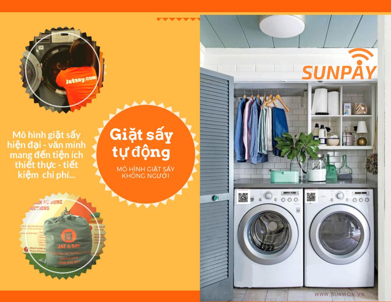 """Máy giặt công nghệ SunPay - """"Giải phóng"""" hàng ngàn sinh viên, người lao động khỏi việc giặt đồ nhàm chán, mất thời gian - Ảnh 4."""