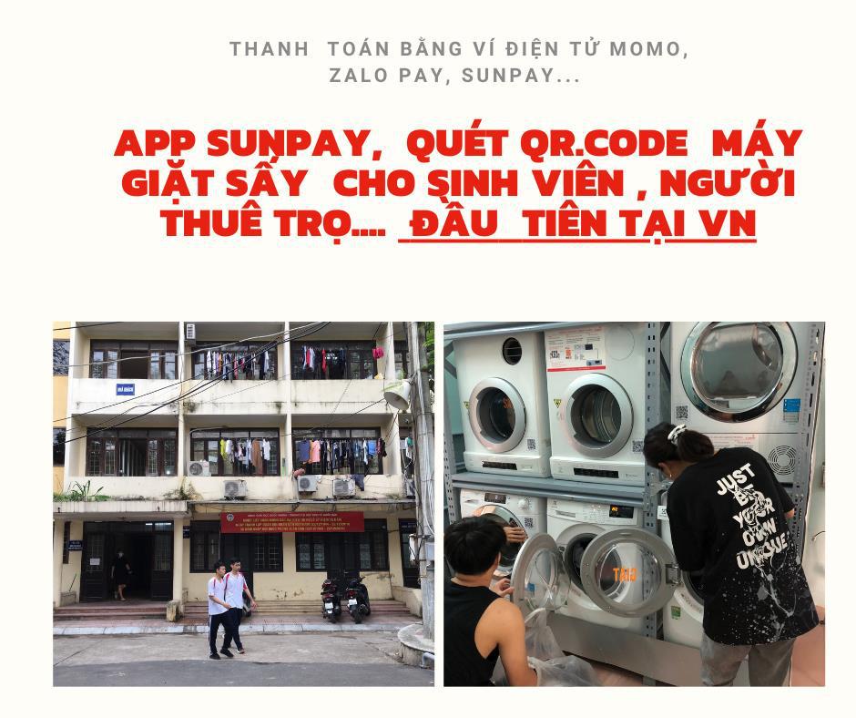 """Máy giặt công nghệ SunPay - """"Giải phóng"""" hàng ngàn sinh viên, người lao động khỏi việc giặt đồ nhàm chán, mất thời gian - Ảnh 3."""