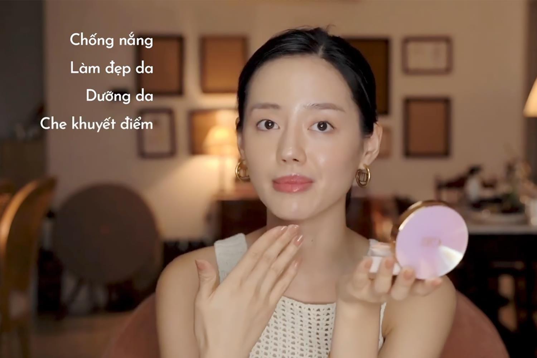 Mách nước lớp nền mỏng nhẹ, Cô Em Trendy bật mí bí quyết sử dụng DD Cushion Hàn Quốc - Ảnh 3.