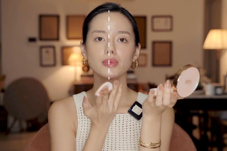 Mách nước lớp nền mỏng nhẹ, Cô Em Trendy bật mí bí quyết sử dụng DD Cushion Hàn Quốc - Ảnh 4.