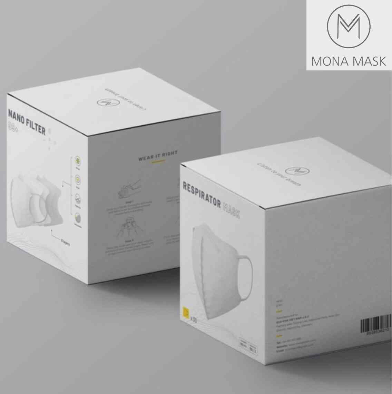 Doanh nghiệp Việt sáng chế khẩu trang ngăn được 99% bụi siêu mịn có kích thước siêu nhỏ 0,3 micromet - Ảnh 1.