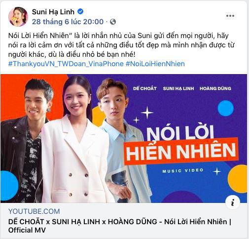 """Hoàng Dũng - Suni Hạ Linh xúc động khi nói lời """"cảm ơn"""", netizen thi nhau """"rần rần"""" vì verse rap của Dế Choắt - Ảnh 3."""