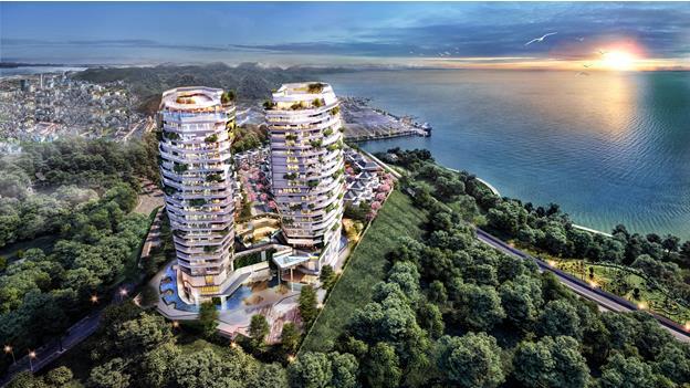 MGallery Residences Ha Long Bay - Khu tổ hợp nghỉ dưỡng đẳng cấp bên bờ Vịnh Hạ Long - Ảnh 1.