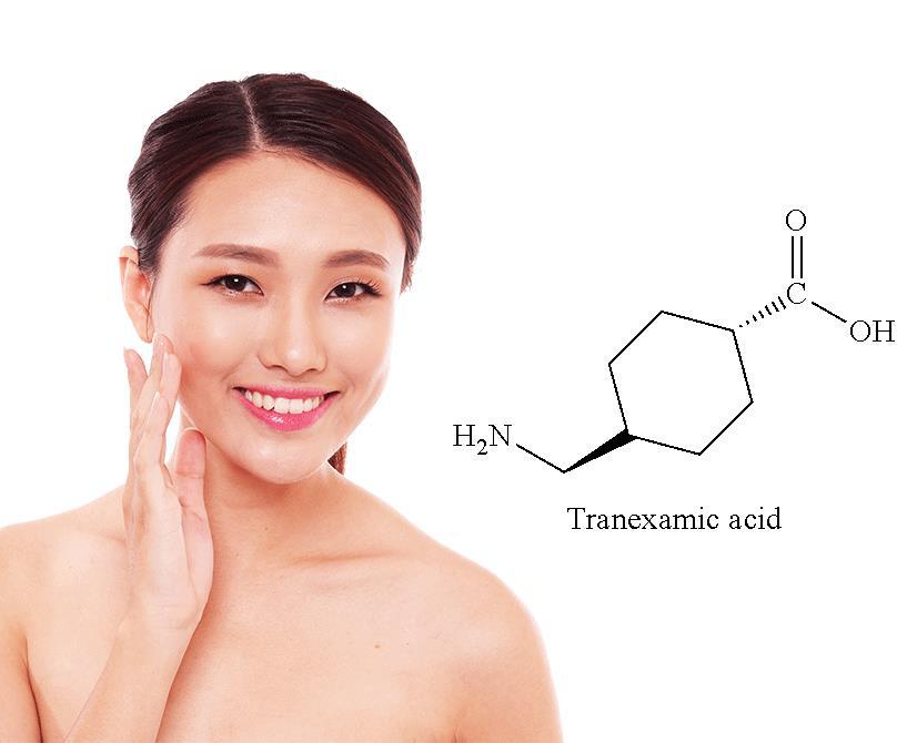 Khám phá ứng dụng của Tranexamic Acid trong mỹ phẩm - Ảnh 1.